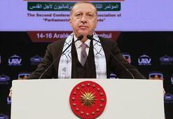 Cumhurbaşkanı Erdoğandan Kudüs resti: Silemeyeceksiniz