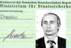 Putinin Stasi kimliği Almanyada bulundu