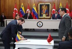 Cumhurbaşkanı Erdoğan açıkladı Venezuelada inşasına başlanacak...