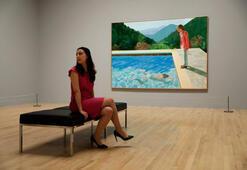 Yaşayan bir sanatçıya en yüksek fiyat Hockney tablosu 90 milyon dolara satıldı