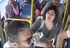 Otobüste dehşet anları Önce karısı fotoğrafını çekti sonra kocası...