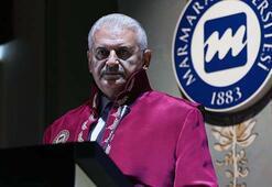 Marmara Üniversitesinden TBMM Başkanı Yıldırıma fahri doktora