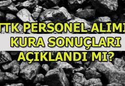 Türkiye Taşkömürü kura sonuçları açıklandı mı (TTK işçi alımı)