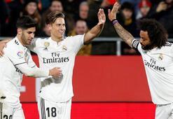 Real Madrid kupada yolu yarıladı