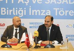 PTT AŞ ile SASAD e-dönüşümde iş birliği yapacak