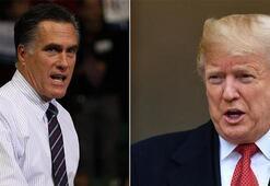 Trump ve Cumhuriyetçi Senatör Romney arasında tartışma