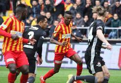 Kayserispor - Beşiktaş: 2-2