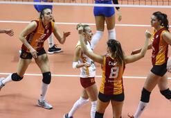 Galatasaray HDI Sigorta - CSM Targoviste: 3-0