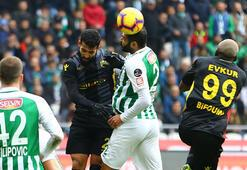 Atiker Konyaspor-Evkur Yeni Malatyaspor: 1-1
