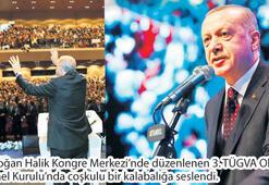 Cumhurbaşkanı Erdoğan Türkiye Gençlik Vakfında konuştu: Müslüman'a alicenaplık yakışır
