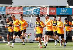 Galatasaray, Akhisar hazırlıklarını sürdürdü