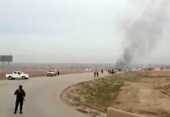 Son dakika... ABD-YPG konvoyuna saldırı