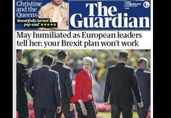 İngiliz basını: Başbakan May, AB zirvesinde rezil oldu