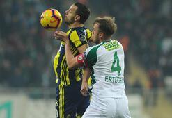Bursaspor-Fenerbahçe: 1-1 (İşte maçın özeti)