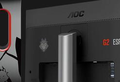 AOC G2590PX/G2 – G2 Esports Signature oyun monitörünü piyasaya sürüyor