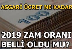 2019da asgari ücrete ne kadar zam gelecek Asgari ücret ve AGİ zammı...