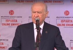 Son dakika... MHP Genel Başkanı Bahçeli: Bizim için anket meydanlardır