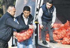 35 bin aileye 700 ton soğan patates