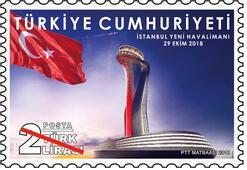 PTTden İstanbul Yeni Havalimanı pulu
