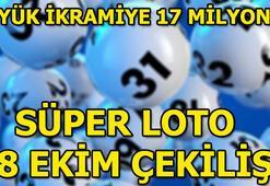 Süper Loto sonuçları (Büyük ikramiye 17 milyon - Süper Loto çekilişi sonuçları)