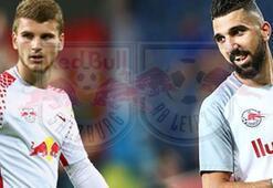 UEFA Avrupa Liginde tarihi gece Red Bull Salzburg ile Red Bull Leipzig...