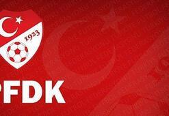 PFDKdan Fenerbahçe ve Trabzonspora para cezası Balıkesirspor ise...