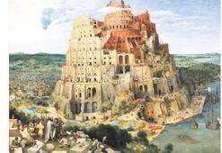 'Babil Kulesi' sergide