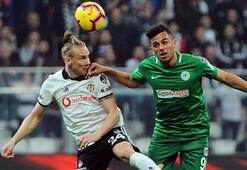 Beşiktaş-Konyaspor: 3-2