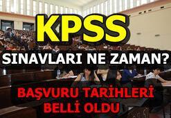 KPSS başvuru tarihleri belli oldu 2019 KPSS sınavları ne zaman yapılacak