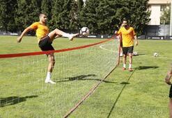 Galatasarayda Akhisarspor maçı hazırlıkları