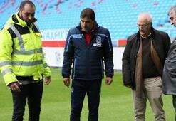 Trabzonsporda statta yapılacak antrenman iptal edildi