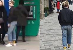 Taksimde ATM sırasında bir dünya yıldızı