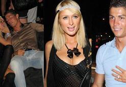 Ronaldo için erkek için yeterli değil diyen Paris Hilton...