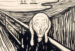 Munch'un 'Çığlık'ı İngiltere'de