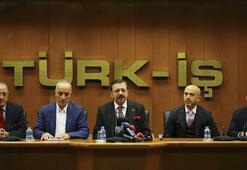 İşçi ve işveren temsilcilerinden Türk-İşe ziyaret