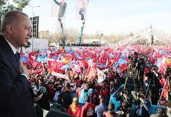 Cumhurbaşkanı Erdoğan: Emanetinize sahip çıkacak belediye başkanları vadediyoruz