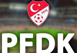 PFDKdan Galatasaray, Beşiktaş ve Trabzonspora ceza