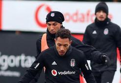 Beşiktaş şut çalıştı Caner ve Roco dışında eksik yok