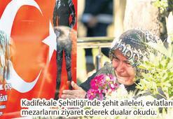 Türkiye, kahraman şehitleriyle buluştu