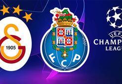 GS-Porto maçı ilk 11ler... Galatasaray-Porto maçı hangi kanalda şifresiz mi