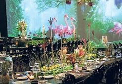 """Düğünlerin vazgeçilmez aksesuarı """"çiçekler"""""""