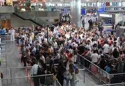 Havalimanlarında dış hat yolcu başına güvenlik ücreti alınacak