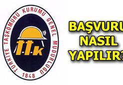 Türkiye Taşkömürü Kurumu 1000 işçi alıyor TTK başvuru şartları