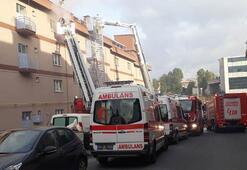 İstanbuldan son dakika haberi Sanayi sitesinde korkutan yangın