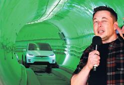 Elon Musk yer altı tünelini açtı