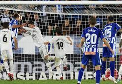 Real Madrid krizde Alaves 90+5te...