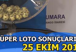 25 Ekim Süper Loto sonuçları açıklandı Süper Lotonun talihli numaraları...