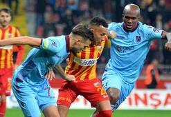 Kayserispor - Trabzonspor: 0-2