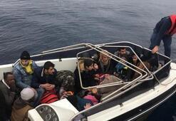 Yunanistana geçmek istiyorlardı... Hepsi yakalandı