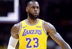 Lakers biletleri uçtu LeBron James çılgınlığı...